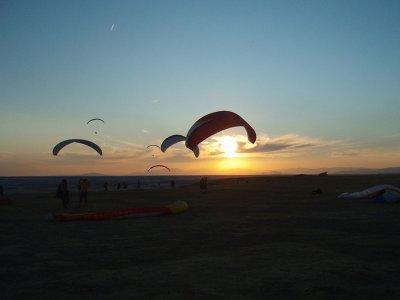 马德里团体滑翔伞飞行15分钟