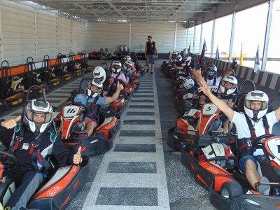 Gara di kart in Benidorm Chrono e 10 giri