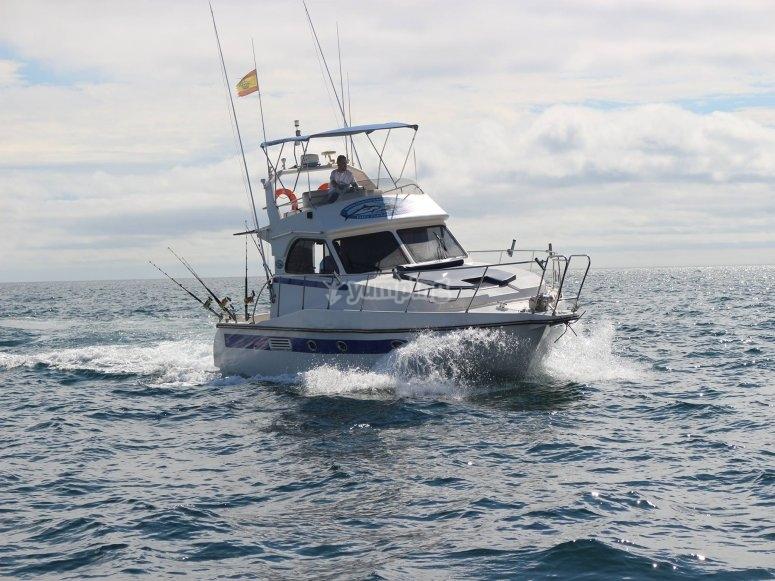 Charter de pesca en Murcia