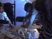 工作坊造纸木偶