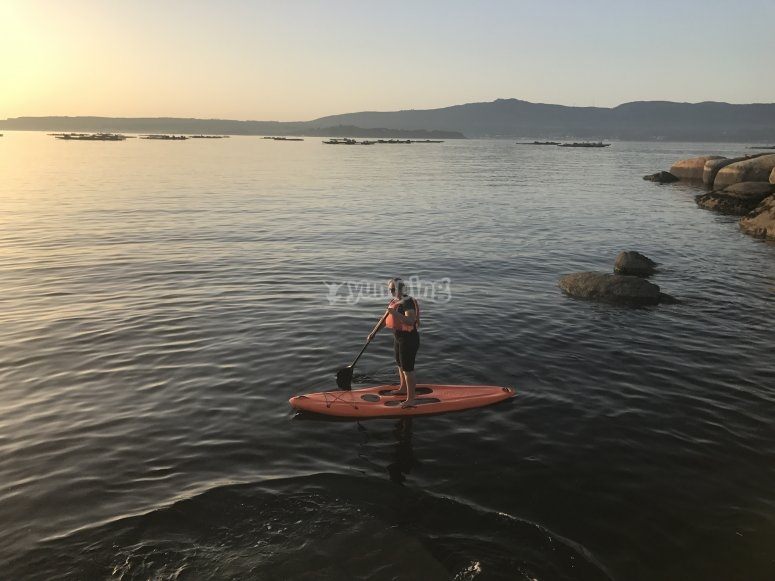 Stand up paddle route