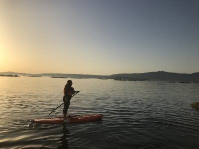 Paddle Surf Adventure in Isla de Arousa 4h