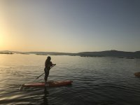 Tour di paddle surf nell'isola di Arousa 4 ore