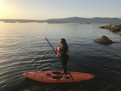 Paddle Surf Route in Isla de Arousa 8 Hours
