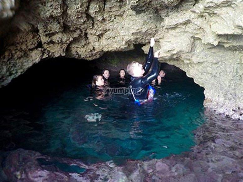 Cueva que se visita