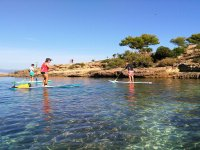 Paddle Surfing Excursion Caves in Mallorca