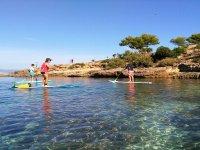 在马略卡岛的洞穴划桨冲浪之旅