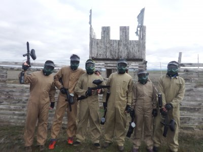 Paintball, 200 Balls & Lunch in Segovia
