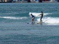 clase privada de surf