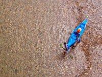 Navigando con il kayak