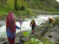 Sul fiume asturiano