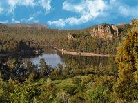 Te llevamos a pescar a cualquier rincon de Extremadura. Sabemos dónde están los mejores ejemplares. bonita estampa de García Sola.