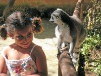 Nina y lemur