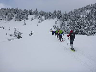 Ekia Actividades y Servicios Raquetas de Nieve