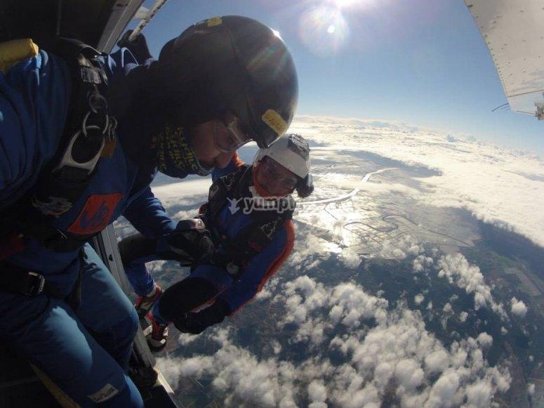 Corso di paracadutismo AFF a Siviglia