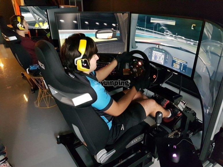 飞行员模拟模拟器驾驶模拟器竞争
