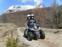 Drive a quad with your partner