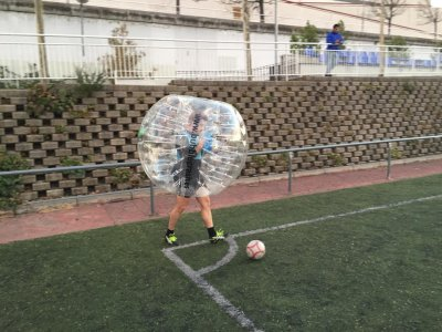 1h Football Bubble in Madrid
