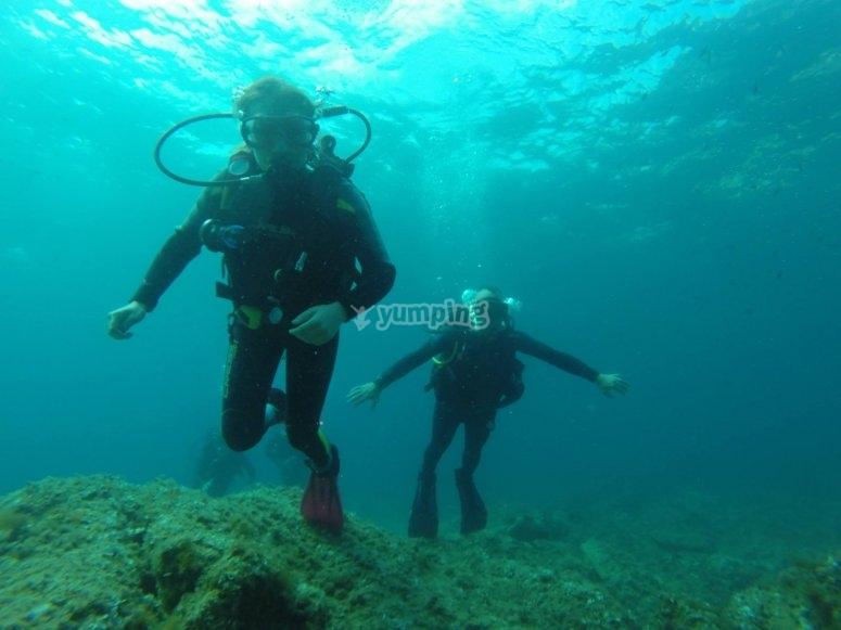 Corso di immersione