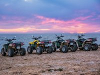 Route in a quad in Ibiza