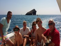 Alquiler de barco con patrón en Alicante 4 horas