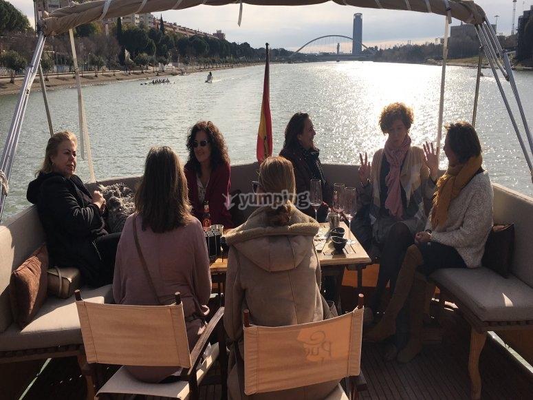 Navega en Sevilla