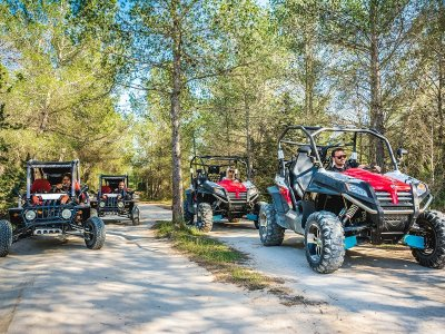 3-Hour Big Buggy Route in Ibiza + Drink