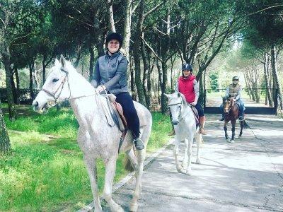 Paseo a caballo en San Martín de la Vega 1 hora