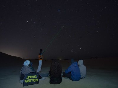 Initiatory Stars Watching Route, Almería