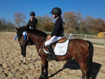 Corso di equitazione San Martín de la Vega 1 ora