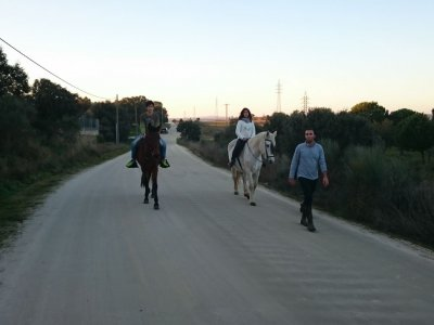 Initiation Horseback Route for Kids, Los Borruecos