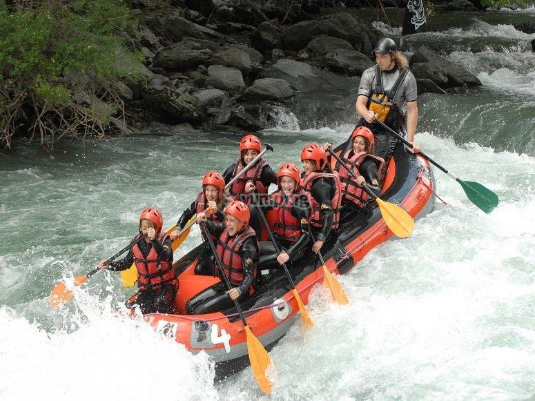 Rafting per cavoli