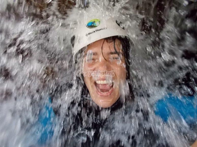 组冒险提神水淋浴