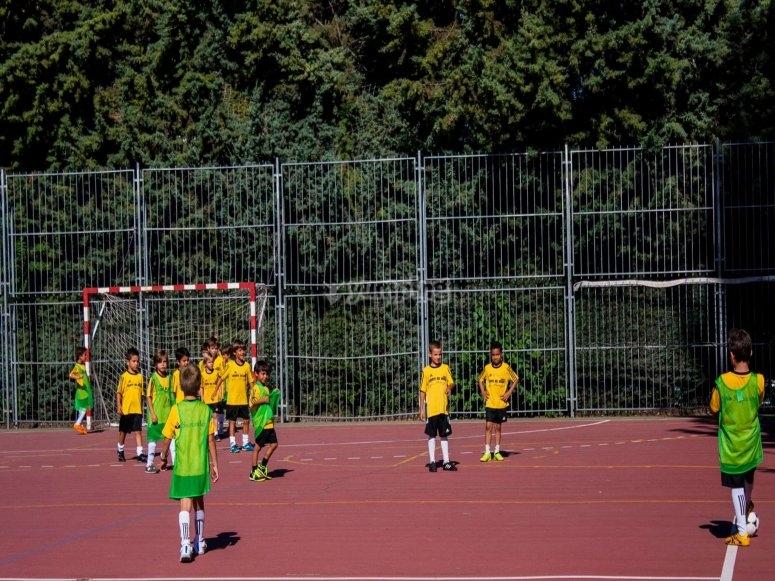 Partido de futbol