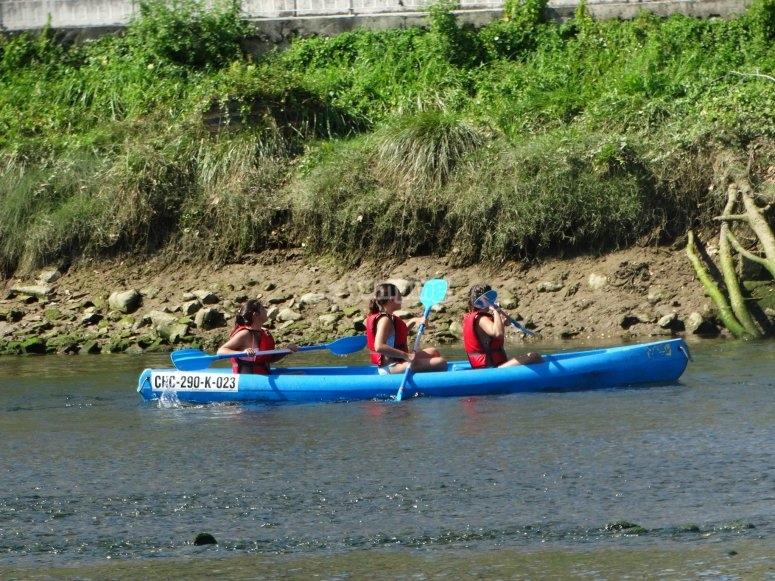 NAvega por el rio Deva