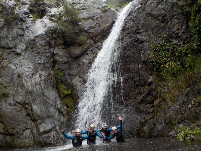Entre cascadas