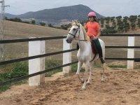 aprendiendo equitacion