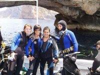 Dopo l'immersione