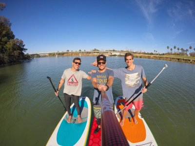 Learn SUP in the Guadalquivir w. Pics & Video