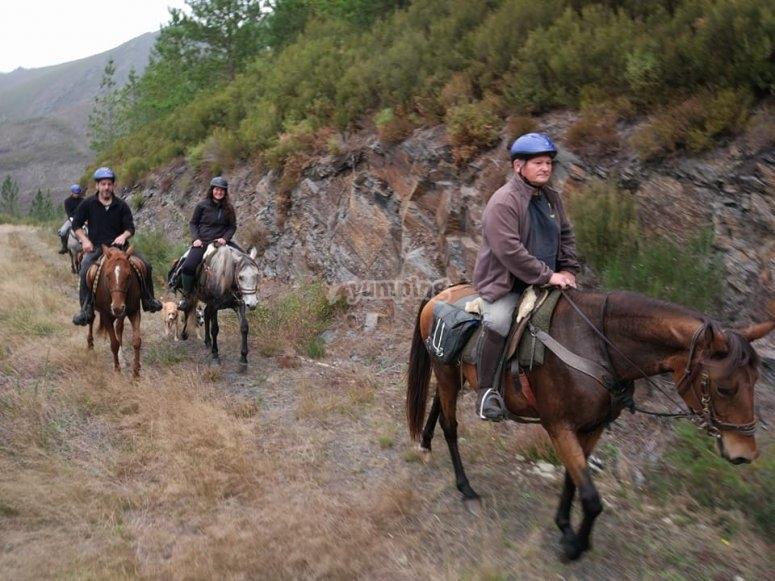 Ruta a caballo en Fonsagrada