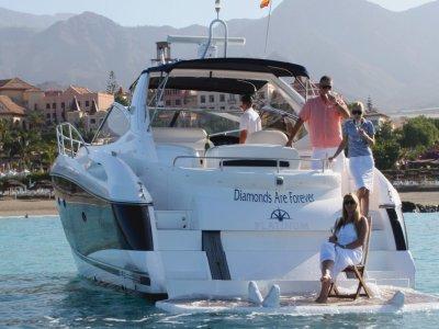 Paseo Barco con patrón en Tenerife 8 personas 2 h