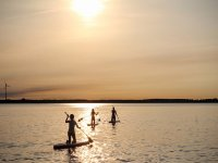 Paddle surf in its purest state