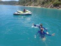 Ruta moto de agua a Tabarca con snorkel 2 horas