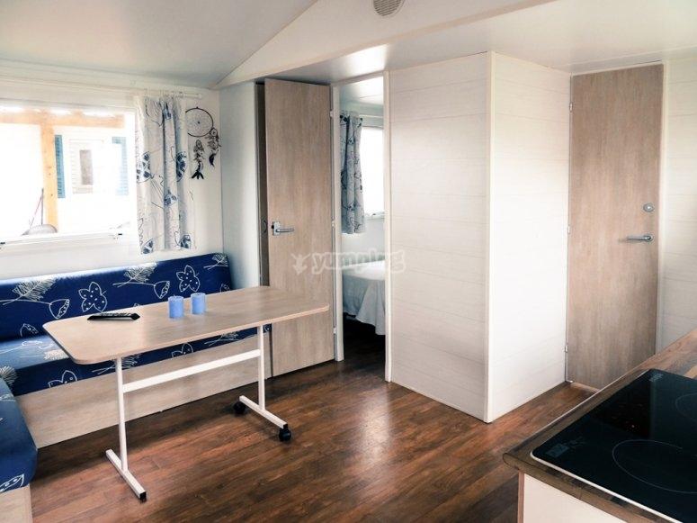 Alojamiento en apartamentos