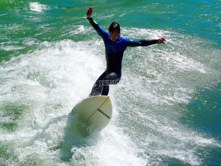 Surf quasi professionale