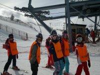 一字排开所有的滑雪水平