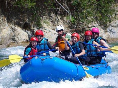 Rafting para niños en el río Ara Valle de Torla