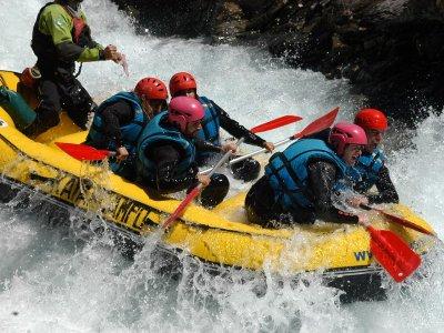 Hacer rafting en el río Ara Valle de Torla adultos