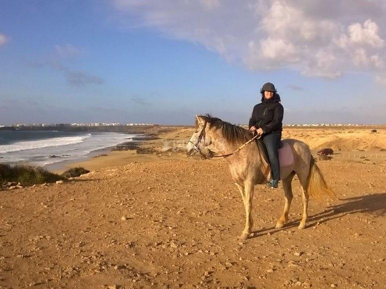 Montar a caballo en El Cotillo Fuerteventura