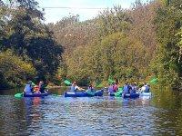 Canoe sul fiume Edo